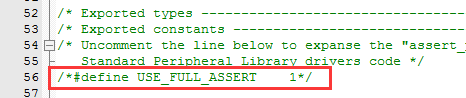 USE_FULL_ASSERT